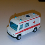 0805 Siku club krankenwagen ambulance mercedes 807d loose diecast model vgc :SOLD@